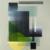 """Geometric modern art acrylic painting by Gustav Norberg"""